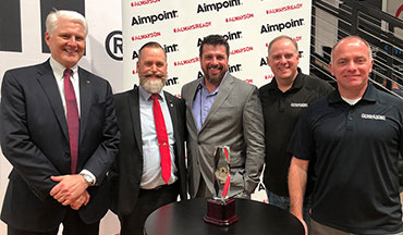 Guns & Ammo Magazine has honored the Aimpoint Acro P-1 with their Optic of The Year Award for 2019.