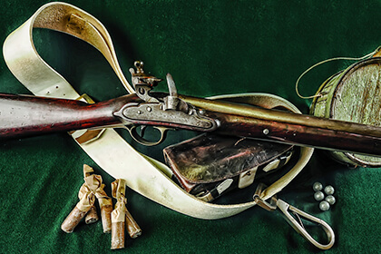 Though unquestionably formidable, the British Pattern 1796 Heavy Dragoon Carbine was one of the most subtly elegant and innovative cavalry arms of its day.
