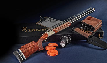 Browning's new Citori 725 Trap Max is a purpose-built competition gun with all the adjustments needed to be competitive right out of the box. With well-figured walnut and polished steel, it looks great, too.