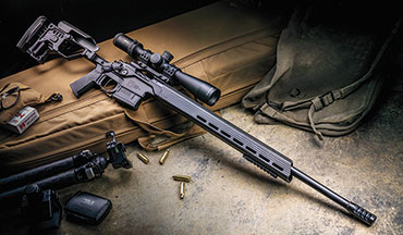 The Christensen Arms MPR has a non-­traditional appearance that certainly makes it stand out, but a detailed examination of the rifle also reveals a ton of useful features relevant to almost every rifleshooter. The latest addition is a steel barrel that helps to bring down the cost to own one.