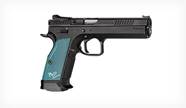 CZ introduces the TS 2, a long slide SA-only gun designed for Limited Division in USPSA that will also be popular as a range plinker.