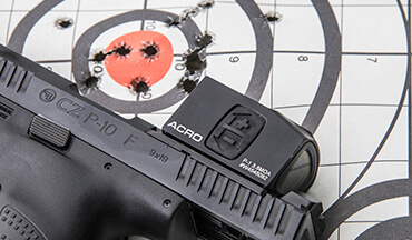 Aimpoint reflex optics up your odds of surviving a life-and-death shootout by allowing you to shoot more accurately at greater distances.
