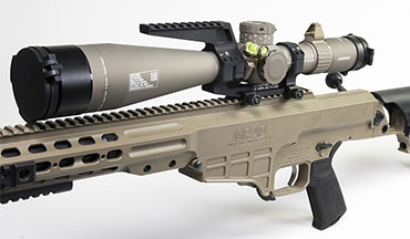 Leupold & Stevens, Inc. announced that its Mark 5HD riflescope has been selected as the day optic for the U.S. Army's Precision Sniper Rifle (PSR) program.