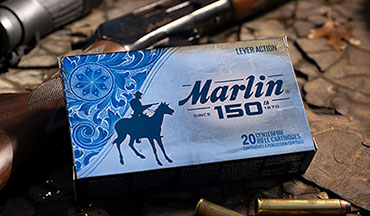 Marlin is celebrating 150 years of the American Hunter with 150th Anniversary editions of the Model 444, Model 60 and ammunition.