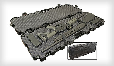New for 2020 is the MTM Tactical Rifle Case—designed to protect rifles and shotguns during transport and to be stacked for storage.