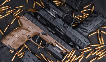 FN America announced the 5.7x28mm caliber has been standardized by NATO.