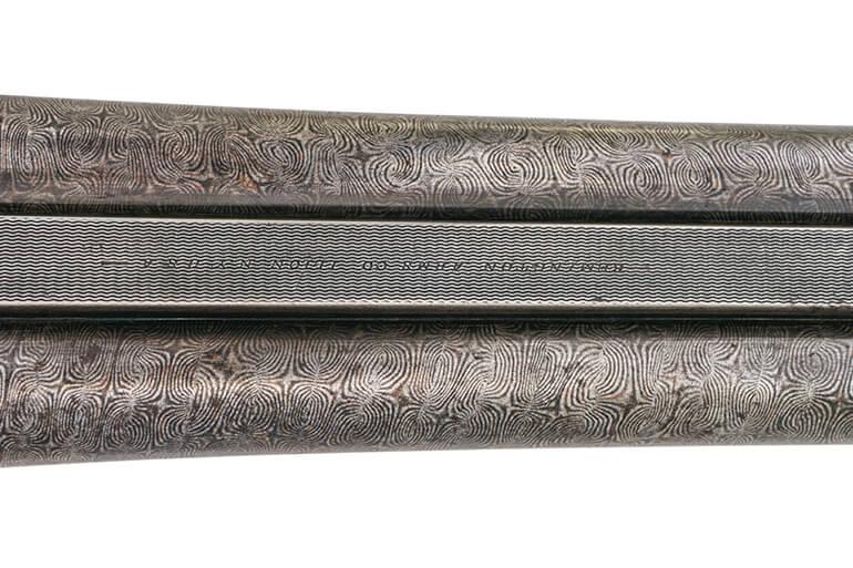 old-damascus-barreled-shotgun