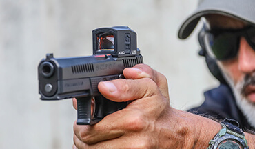 There are millions of new gun owners in America learning to accurately shoot their new firearms; Aimpoint offers several red-dot solutions to shorten the learning curve and simplify the sight-in process.