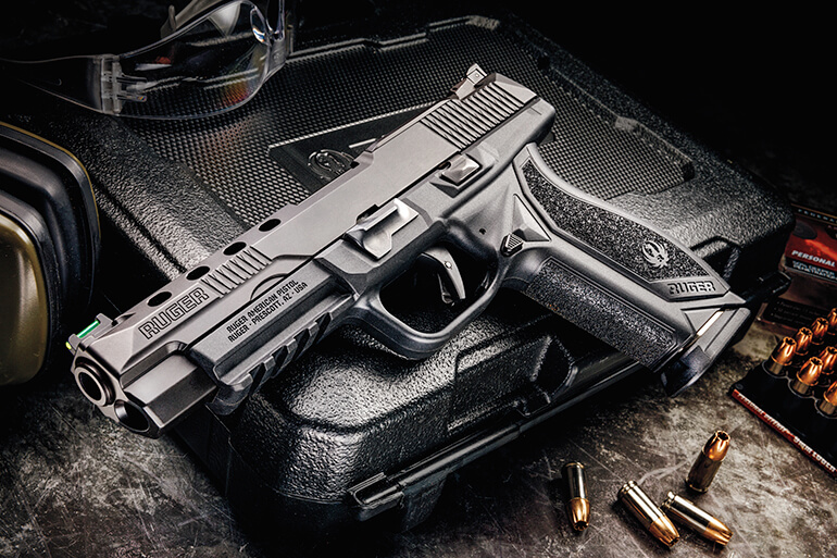 Ruger American Pistol Competition 9mm Review