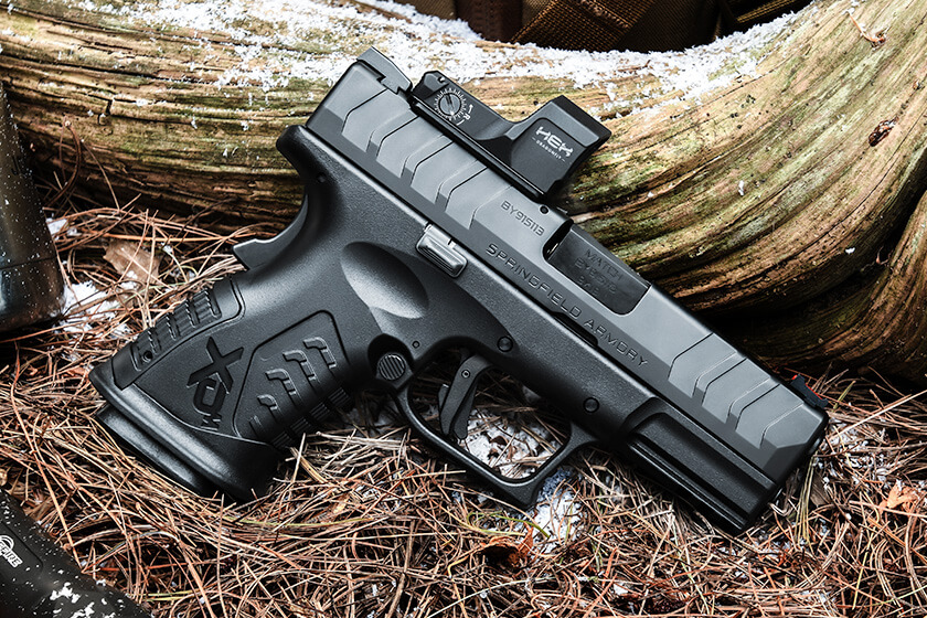 <p>Springfield Armory has announced the newest addition to the XD-M Elite series — the XD-M Elite 3.8-inch Compact OSP. This EDC-ready 9mm redefines what you should expect from modern, striker-fired pistols.</p>