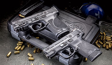 The Smith and Wesson M&P family is huge and their duty guns have been a staple of law enforcement for decades. But when the patrol is over, S&W has your off-duty and personal-defense needs met as well.