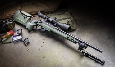 The upgradable Tikka T1x .22LR rifle is a great place to start on the growth chart to precision shooting success.