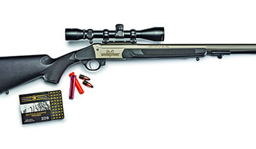 Traditions' Nitrofire is an innovative muzzleloader that uses Federal's new Fire­Stick.