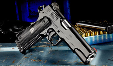 Hand built in Arkansas, the Wilson Combat American Combat Pistol (ACP) 1911 features all the precision, craftsmanship and quality associated with a Wilson Combat custom handgun at a lower, package price.