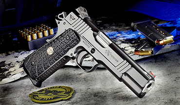 Wilson Combat EXPERIOR series pistols are a unique blend of classic 1911 design with modern reliability and ergonomic enhancements that optimize overall handling and shooting performance.