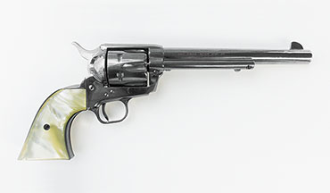 The Colt Single Action Army, adopted by the military in 1873, is without doubt one of the most iconic firearms in U.S. history.