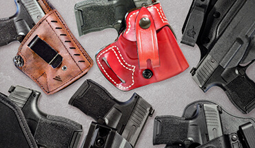 The SIG Sauer P365 has quickly become a popular option for concealed-carry fans who want a super-small gun with a lot of capacity; here's a look at six great options to consider.