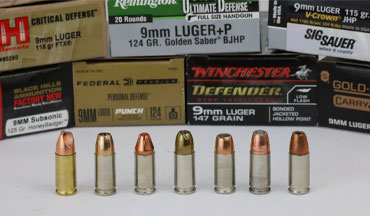 When your life depends on it, you can rely on these seven 9mm defensive loads.