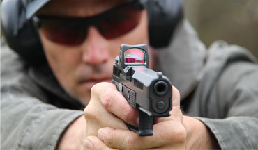 <p>A look at eight optics-ready pistols for just about any application or budget, including...</p>