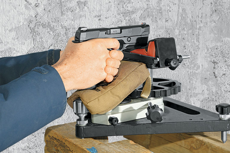Handgun Accuracy Testing