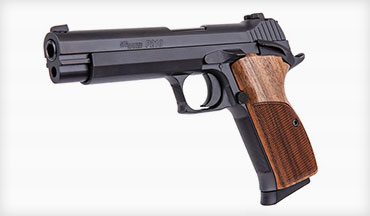 SIG SAUER has introduced the American Made P210 Standard pistol to the U.S. Commercial Market.