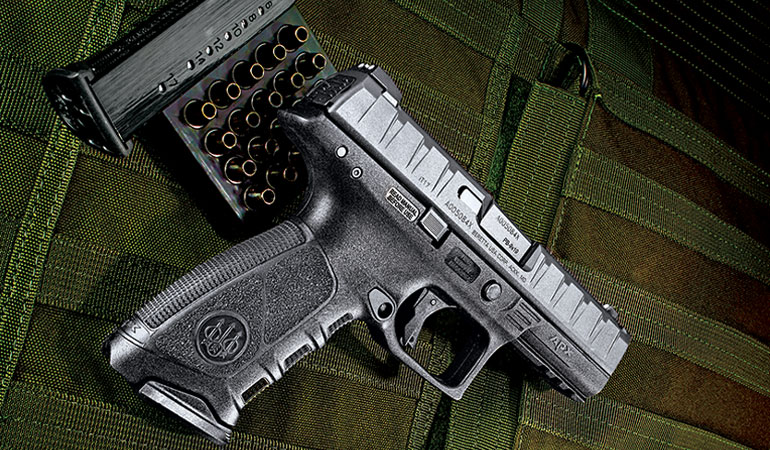 It took the company while to introduce the Beretta APX pistol. Do good things come to those who wait?