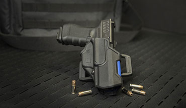 Blackhawk has announced a limited-edition T-Series Level 2 Compact (L2C) holster in recognition of National Police Week.