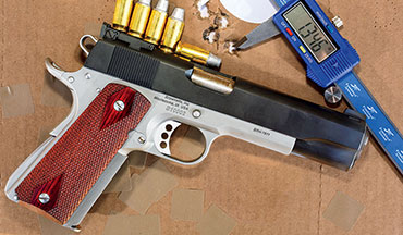 Brownells has teamed up with Ed Brown to build a 1911 that looks like the IPSC guns of old but which performs much better than many did back then.