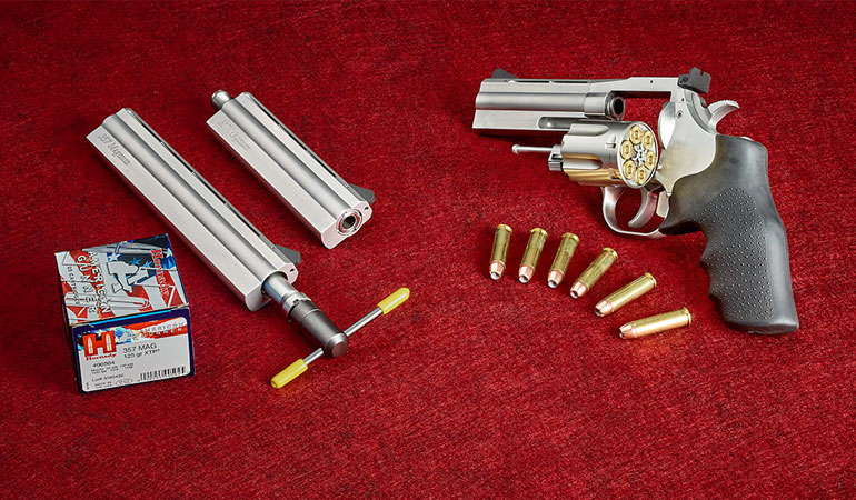 As it celebrates its 50th anniversary, Dan Wesson brings back its legendary switch-barrel revolver.