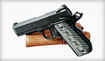 Dan Wesson's ECP is an excellent  example of the Commander- size 1911 pistol.