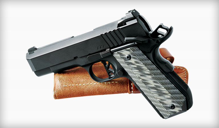 Review: Dan Wesson ECP - A Bushingless 1911 Commander in 9mm