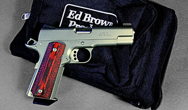 If you're willing to make the investment, you'd be hard-pressed to find a better made, better shooting and better handling pistol than Ed Brown's Executive Commander.