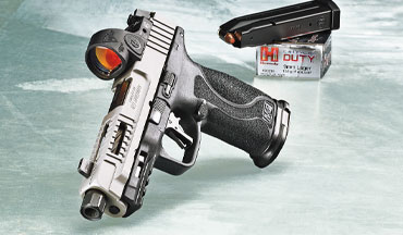The MP-F3, part of the new 'Fueled by Ed Brown' series, takes the rock-solid Smith & Wesson M&P to new heights.