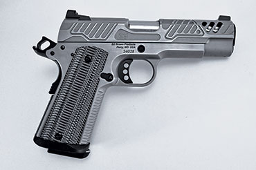 The Ed Brown ZEV 1911 pistol is styled by ZEV Technologies and produced by Ed Brown, and the end result is one magnificent piece of firearms art.
