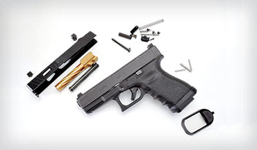Upgrade your Glock with parts and kits from Rival Arms.