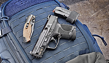 The new Smith & Wesson M&P M2.0 Subcompact is offered in 9mm and .40 S&W and with and without a thumb safety.