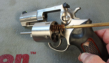 You're stuck at home. You've got time. Take this opportunity to do some handgun maintenance.