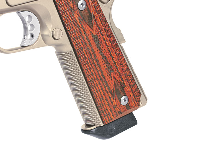 Ed Brown 1911 Executive Commander frontstrap