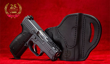 Kahr's K9 9mm pistol is a quarter-century old, and to commemorate the milestone the company is producing a limited-edition 25th anniversary K9.