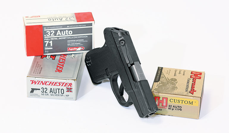 Kel-Tec's P-32 in .32 auto is a small gun capable of handling big jobs.