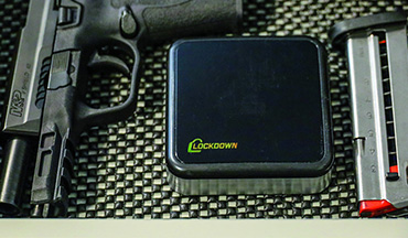 The Lockdown puck can help keep your guns safe and in good shape.