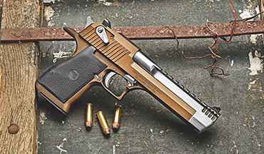 Build the Desert Eagle pistol of your dreams, thanks to Magnum Research's new build website.