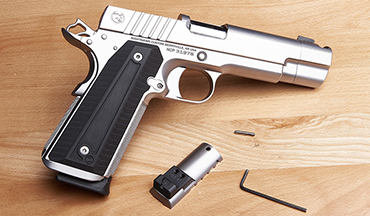 Once restricted to new Nighthawk builds, now you can have it installed on many existing 1911 slides.