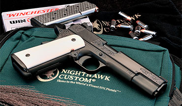 For the deep-pocketed aficionado of fine handguns, the Nighthawk VIP Black might be your cup of tea.