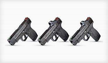 For the first time ever, the Performance Center M&P Shield M2.0 is available with a slide cut for optics and ships with a red dot included.