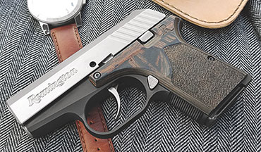 Remington's new executive adds aesthetic upgrades to the company's popular RM380 semiautomatic line.
