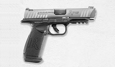 Remington's new RP45 is a large but well-behaved striker-fired .45 semiauto.