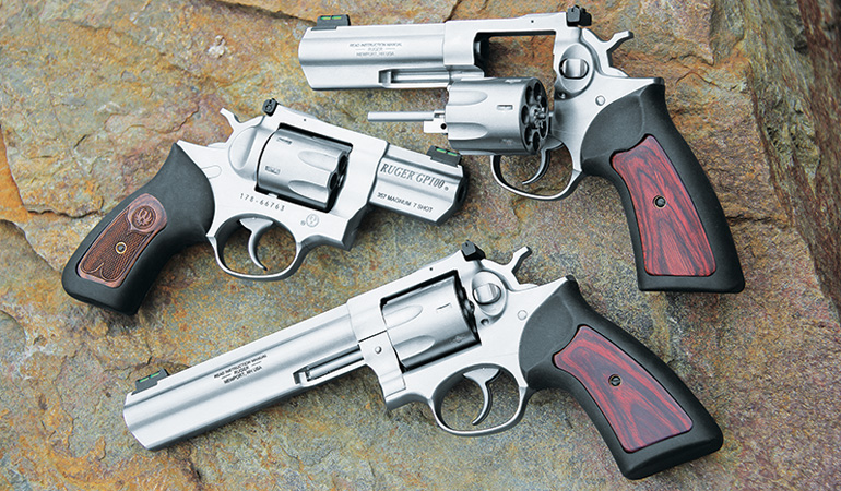 Ruger's reliable and accurate GP100 now offers an extra round of .357 power.
