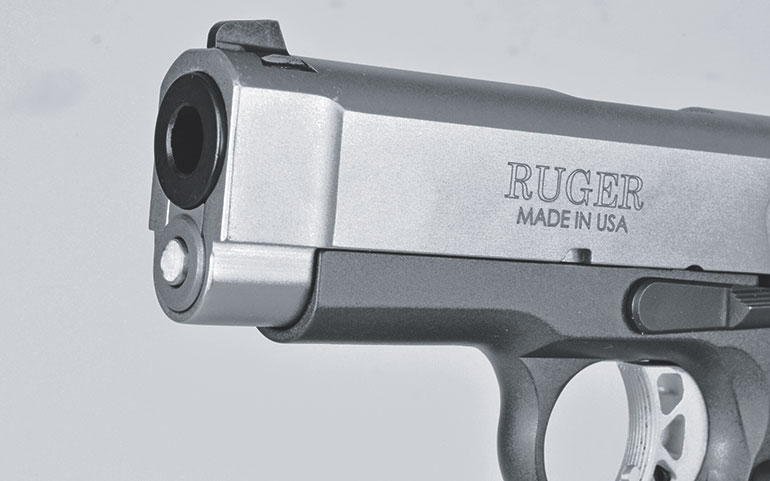 Ruger SR1911 Officer-Style features