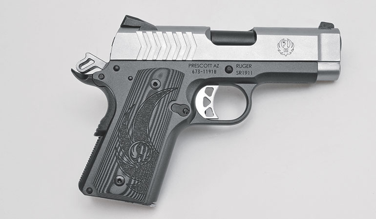 Review: Ruger SR1911 Officer-Style